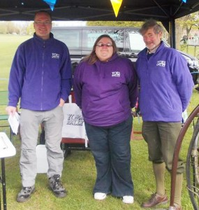 Some of the 2015 Committee modelling Rally clothing at our Tour de Yorkshire stand in May. Photo by Darren Sables. Click the picture to order clothing!