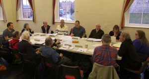 York Rally AGM 2015 at the Railway Institute, York. Photo: Dave Waldram