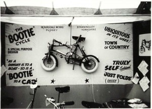 The Bootie bike.Photo: Warwick University Archives, via Brian Conolly.