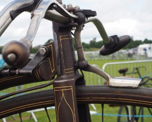 Part of the fine display of historic cycles at the 2016 York Rally. Photo: Bob MacQueen.