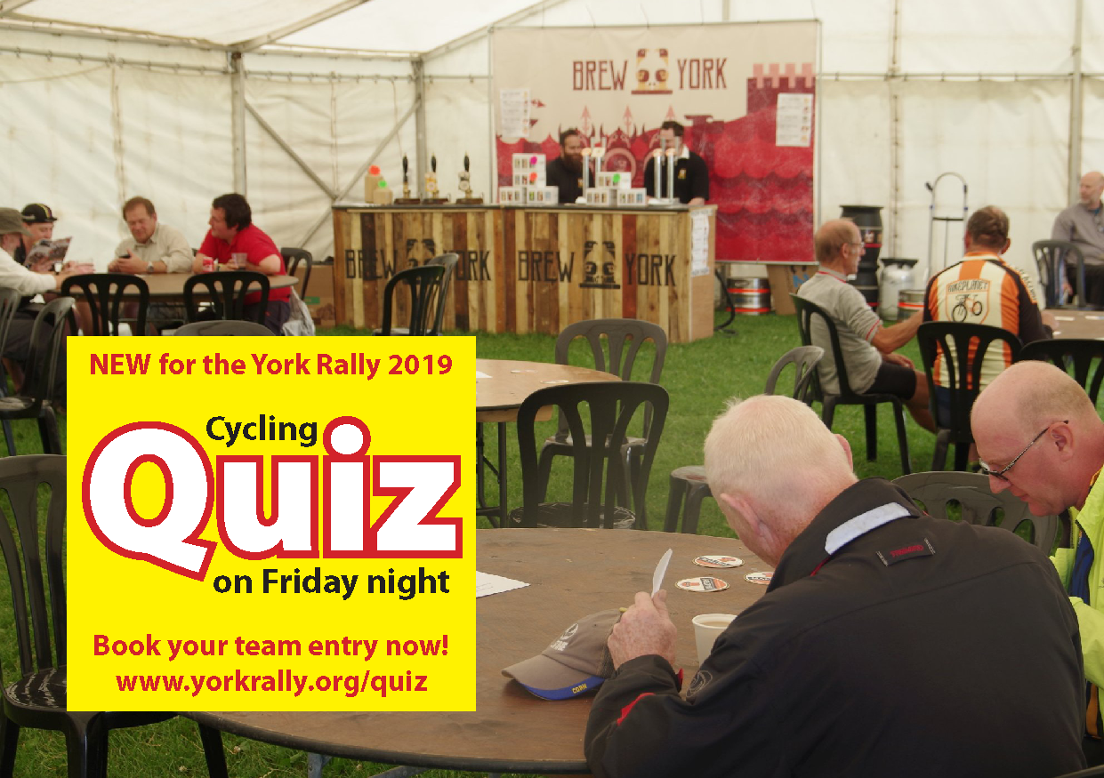 5. The new Friday evening quiz