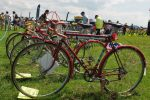 Historic cycles display at the York Rally 2019